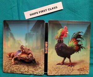 NEW! Far Cry 6 Steelbook Ultimate Edition Guapo Chicharron Xbox X S PS5 GameStop