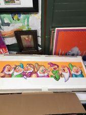 Disney Snow White Seven Dwarfs Original Art