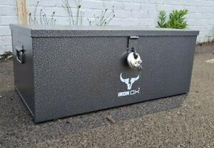Steel Job Site Tool Box Van forklift Garage Vault Site Security Iron Ox®