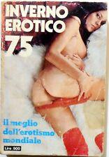 I VIOLA DEL MOMENTO N.20 INVERNO EROTICO 75 SUPPLEMENTO LIBRI PECCATO  1970 SEXY
