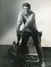 JOHNNY HALLYDAY 1965 VINTAGE PHOTO ORIGINAL #20