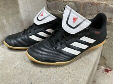 Adidas Copa Indoor Soccer Shoes Men's Size 8 Black/ White/ Red BB5373