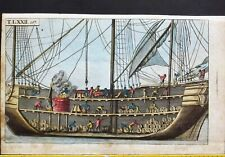 View of a Whalingship,Wilhelm,Unterhaltungen,Saeugetiere,hand colored Engr.1806
