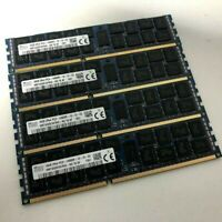SK hynix 16GB 2Rx4 PC3-14900R HMT42GR7AFR4C x4 Sticks Server Ram (Total 64GB)