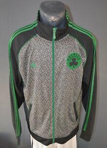 Boston Celtics NBA Jacket Basketball Tracksuit Sweatshirt Mens Full Zip Size S