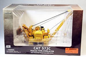 1/50 Norscot CAT Caterpillar 572C Pipelayer Metal Tracks DieCast model 55210