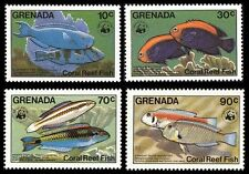Mint Never Hinged/MNH Fish Grenadian Stamps (Pre-1974)