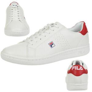 Fila Crosscourt 2 Low Sneakers weiss - rot  Herrenschuhe