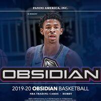 2019-20 Panini Obsidian Basketball Random Team Break #1
