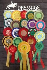 Horse Dressage Rosette Stainless Steel Display