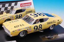 Carrera 27522 Evolution Ford Torino Talladega #98 NASCAR 1/32 Scale Slot Car