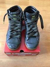 RARE Sz 10.5 PUMA Lizoid King First Round Rifle Green/High Risk Red UNDEFEATED