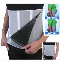 Sauna Slimming Belt Body Shaper Wrap Weight Loss Fat Burner Tummy Cellulite Burn