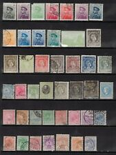 Serbia early stamps ,MH&USED NICE LOT on 2 pages,HCV