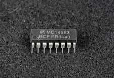 MC14553 IC COUNTER BCD 3DIGIT CMOS 16DIP 14553 MOTOROLA
