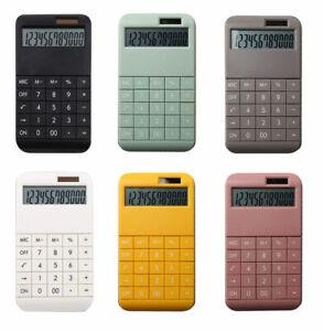 Taschenrechner mit Standardfunktionen in verschiedenen Farben -