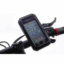 Water resistant Bike Bicycle Handlebar Mount Holder Cover Case iPhone 6 6S 4.7""