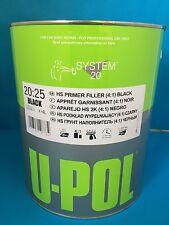 UPol 2K HS High Build Paint Primer 4:1 4 Litre BLACK S2025B