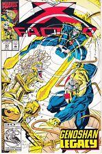 X-FACTOR  #83 1992 -GENOSHAN LEGACY PAINTING THE TOWN DAVID/ HARRAS...NM-