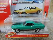2016 Johnny Lightning *MUSCLE CARS USA R1B* Green 1970 Ford Mustang Mach 1 *NIP*
