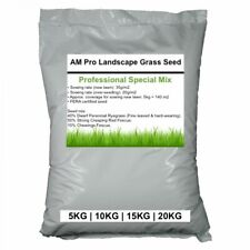 Professional Grade AM Pro Landscape Grass Seed Lawn vital nutrients STRONG