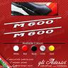 Coppia adesivi Ducati Monster M 600 M600 per fianchetto