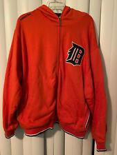 Detroit Tigers Hoodie Sweatshirt Zip Up Mitchell & Ness MLB Baseball XXXL