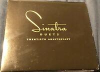 Frank Sinatra Duets Twentieth Anniversary Ltd Ed 2CD digipak with 32 page book