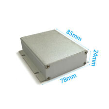 Aluminum Enclosure electrical project box case DIY 78*24*85mm wall-mounting NEW