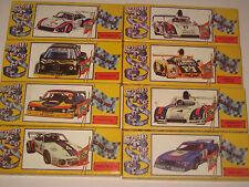8 Model Kit Snap Together Rare Cars NEW Gulf VR8,Matra MS670,Ferrari 512 Daytona