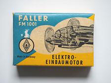 FALLER FM 1001 Elektro Einbaumotor Motor 1000 Umdr./Min 3-6 Volt 0,1 Watt