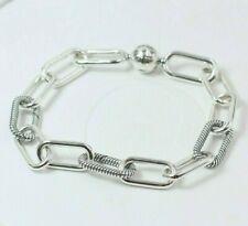 Pandora - 20 cm - S925 ALE - Me Link Bracelet 598373 + Popup Box & Tissue