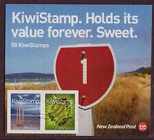 NEW ZEALAND 2009 NEW KIWI STAMPS SHEETLET OF 50 FINE USED PANE