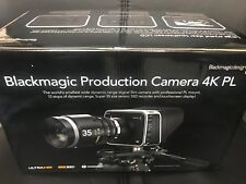 BRAND NEW Blackmagic Design Production Camera 4K PL Mount X BLACK MAGIC NO LENS