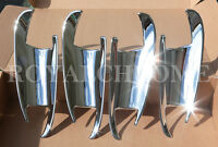 US STOCK x4 CHROME Door Handle Bucket Covers for Mercedes W166 ML GLE GL GLS GLK