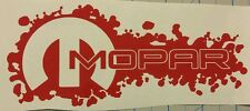"7"" Mopar decals stickers charger challenger dodge srt red buy 2get 1free"