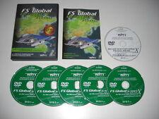 FS GLOBAL ULTIMATE Asia Oceania Pc DVD Rom Add-On Flight Simulator Sim X FSX