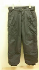 Boys Girls PLACE Ski Pants Snowboard Winter Olive Gray Thermolite w/ Logo Sz 5