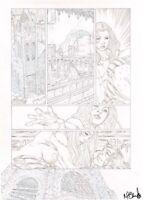 Mark Brooks Cloak & Dagger #1 Page 32 Original Art Marvel Comics