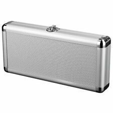 Nintendo Switch Aluminium Metal Carry and Storage Case - Silver