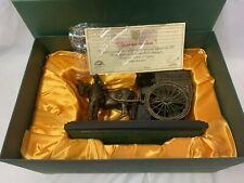 "More details for ringtons coach ""your tea madam"" cast bronzed sculpture in original box with cert"