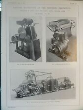Dobson and Barlow Ltd. Cotton Textile Machinery Greater Manchester England 1910