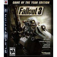 Fallout 3 - Game of the Year Edition PS3 [Brand New]