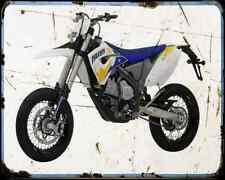 Husaberg Fs 570 Supermoto 10 A4 Photo Print Motorbike Vintage Aged