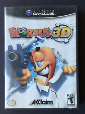 Worms 3D (Nintendo GameCube) - CIB Complete TESTED