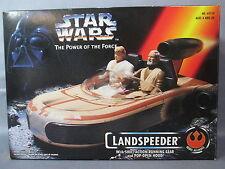"Star Wars ""LANDSPEEDER"" Complete + Box Power of the Force 1995"