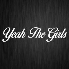 Yeah The Girls Sticker YTG Funny Vinyl Car Window Decal 200mm x 45mm