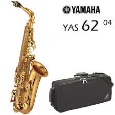 Yamaha YAS-62 04 Alto Saxophone (Latest Model!) | Gold Lacquer
