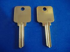 TWO KEY BLANKS FIT MEDECO LOCKS #1518 NICKEL SILVER LEVEL 3 5-PIN