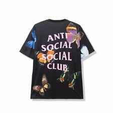 Anti Social Social Club Ashton Tee Black Rare Sold Out ASSC